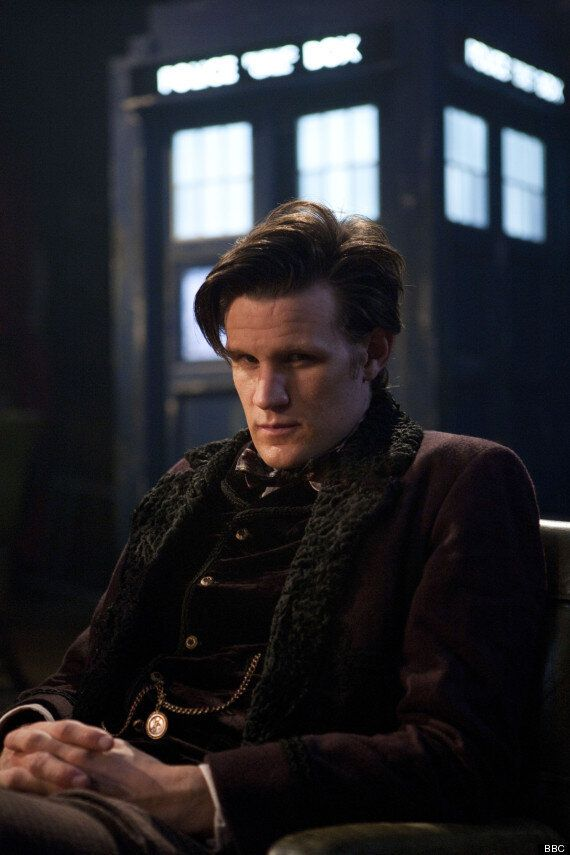 'Doctor Who' Star Matt Smith Says He's 'Around For A Whole Year' And Reveals Who Influences His Time...