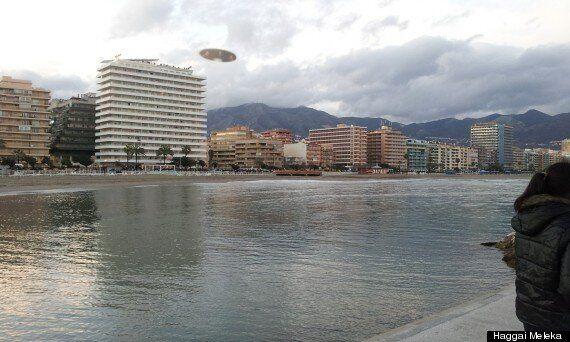 'UFO' Photographed Hovering Over Fuengirola Coastline In Spain
