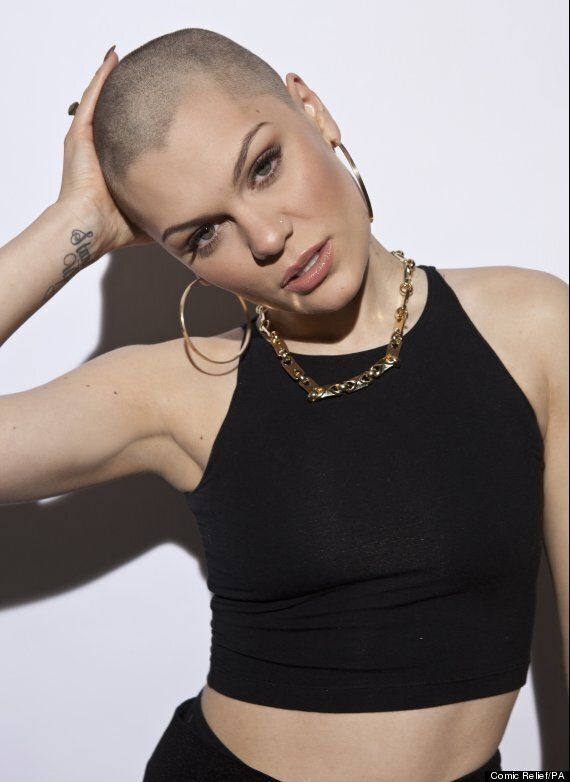 Comic Relief 2013: Jessie J Shaves Hair Off For Red Nose Day