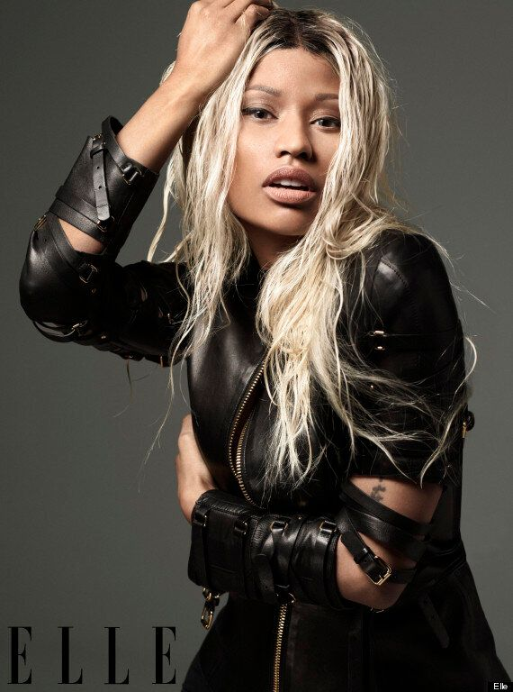 Nicki Minaj Elle Magazine Shoot: 'American Idol' Judge Gets Dramatic Make-Under