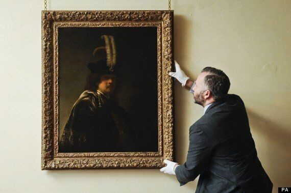 National Trust Had Rembrandt Self-Portrait On Their Wall All