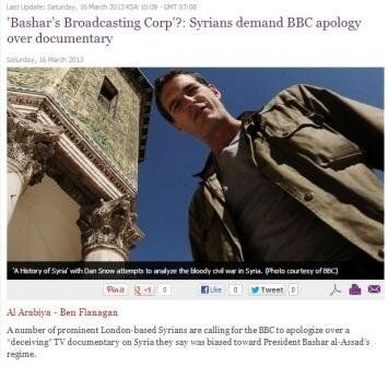 'A History of Syria,' distorted by the