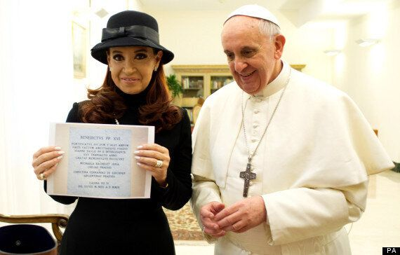 Pope Francis Asked By Argentina's Cristina Kirchner To Intervene On Falkland Islands