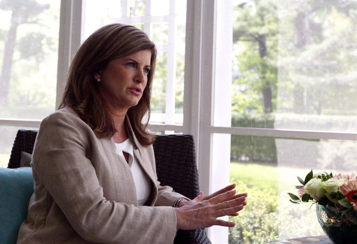 Rona Ambrose is shown during an interview with The Canadian Press in Ottawa on May 18, 2017.