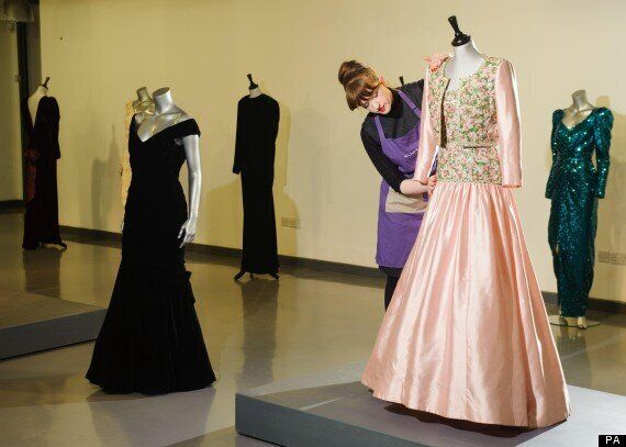 Diana Princess Of Wales Dresses To Auction For Up To