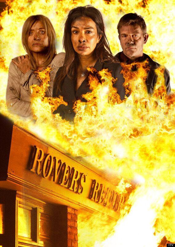 'Coronation Street' Fire Means ITV Soap Blazes Ahead Of 'EastEnders' In Ratings