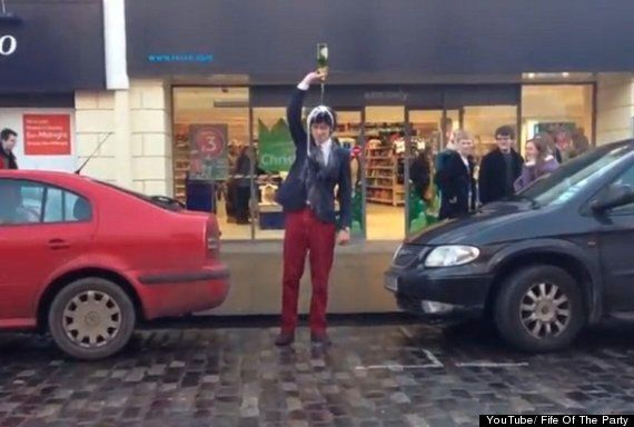 St Andrews University Students Apologise Over 'Champagning'