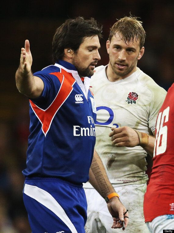England Report Referee Steve Walsh To IRB After Wales