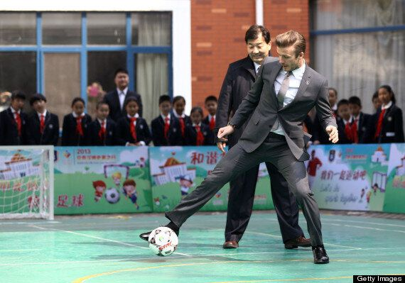 David Beckham Begins Ambassador Role For Chinese Football