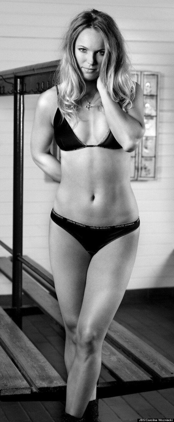Caroline Wozniacki Models New Underwear Range