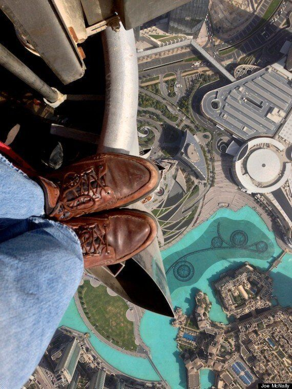Picture Of The Day: Incredible View From World's Tallest Building