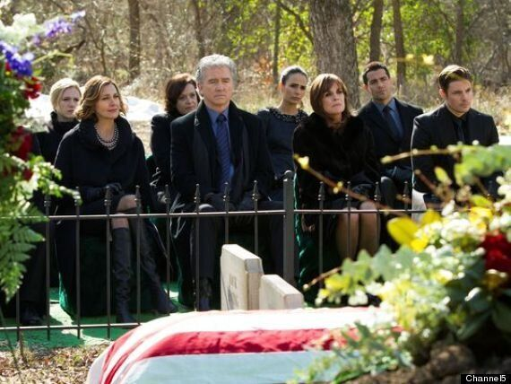 Is Dallas Heading For The Chop As Ratings Die With JR? Viewing Figures Only Slightly Up For Funeral