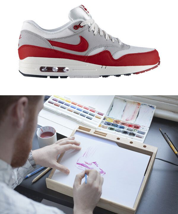 Getting Arty for the Nike Air Max 25th