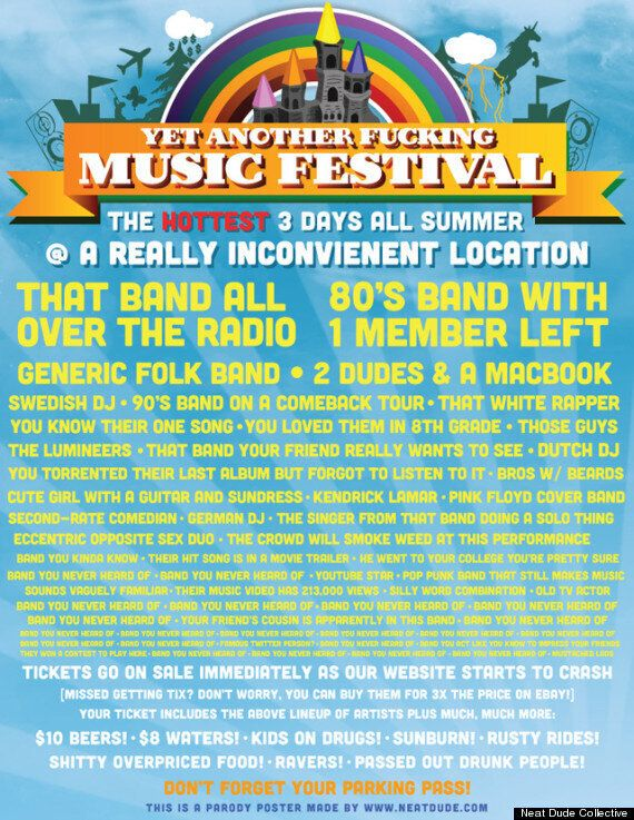 Yet Another F**king Music Festival:
