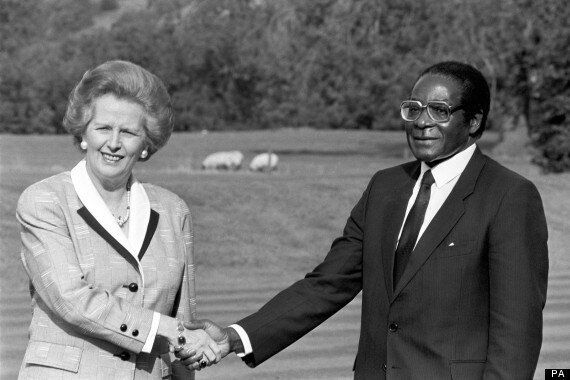 Margaret Thatcher Praised Robert Mugabe For His 'Friendly And Open