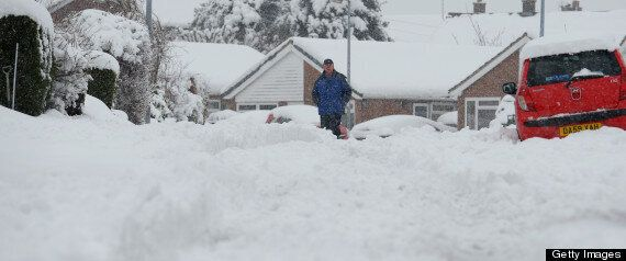 UK Weather: More Snow Forecast As Thousands Of Britons Left Without