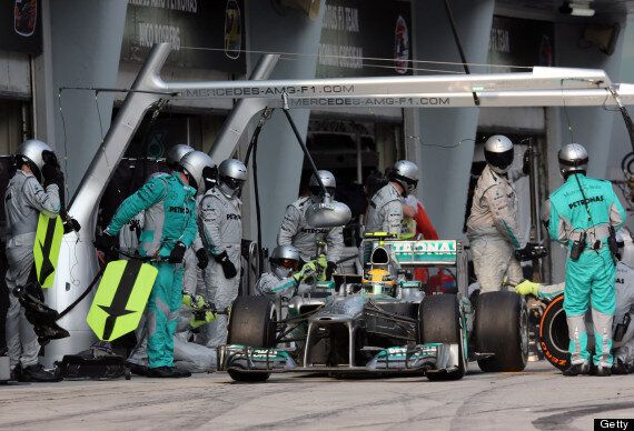 Lewis Hamilton Sorry For Mercedes Pit-Stop Blunder At Malaysian Grand Prix