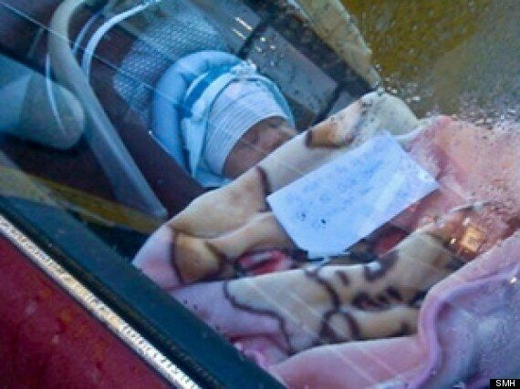 Mother Leaves Newborn Baby In Locked Car With Note Asking Shoppers To Call Her If Needed