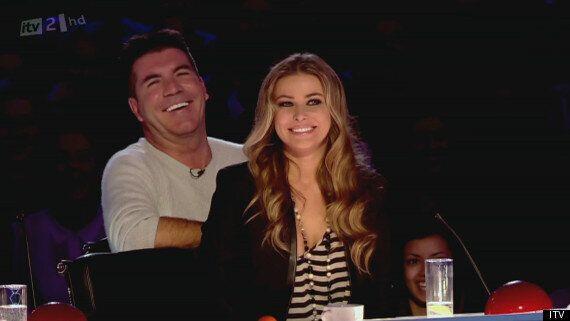 Simon Cowell Confirms Carmen Electra Romance
