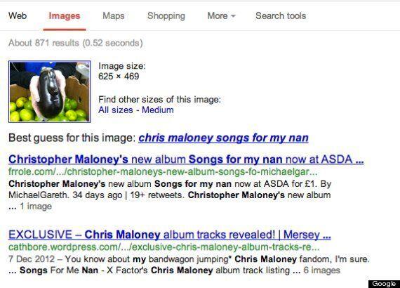 Google Thinks Chris Maloney Is An Aubergine, Not An
