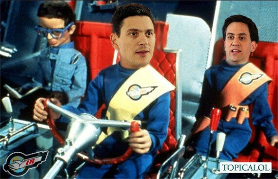 David Miliband's First Day In His Job At International Rescue