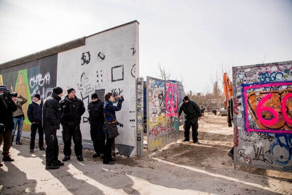 Berlin Wall Section Removed By Property Developer, Despite Protests And David Hasselhoff