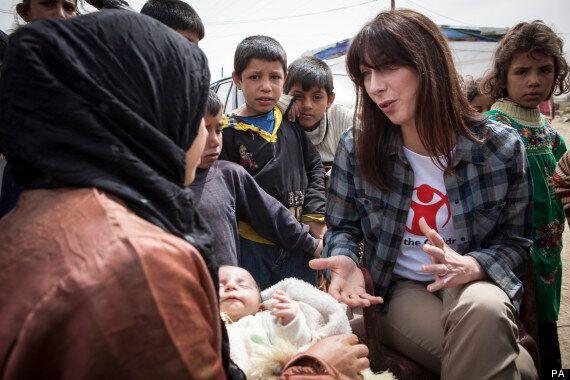 Samantha Cameron Speaks To Children Caught Up In Syria Civil War