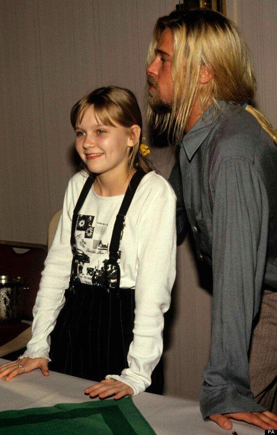 Kirsten Dunst: 'Kissing Brad Pitt Was