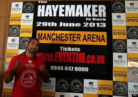 David Haye Announces Boxing Comeback