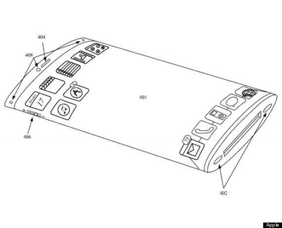 Apple Patent Suggests All-Glass Wrap-Around iPhone