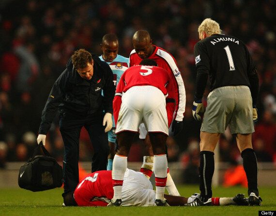 Abou Diaby, Arsenal Midfielder, Out For Eight Months With Cruciate Ligament