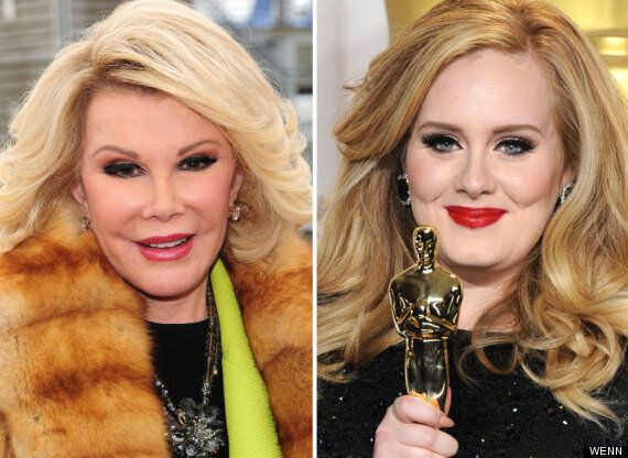 Joan Rivers Brands Adele Fat, Says 'Chubby' Singer Should 'Lose