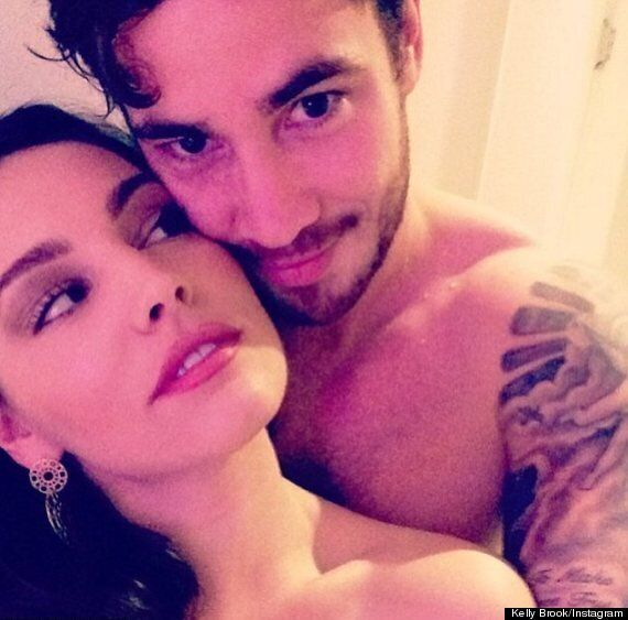 Kelly Brook And Danny Cipriani Househunting As They Share Topless Instagram