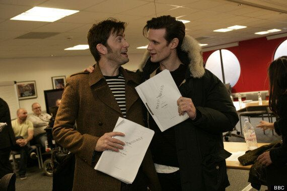 PICTURE: Matt Smith And David Tennant At 50th Anniversary 'Doctor Who'