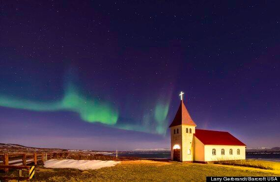 Aurora Borealis, Northern Lights Photographed Above Iceland