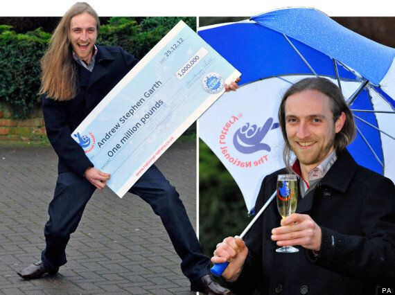 EuroMillions Christmas Day Millionaire Raffle Won By Andrew Garth, On His Boxing Day