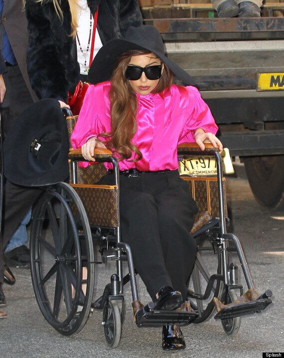 Lady Gaga Back On Her Feet (And In Heels) Following Hip Surgery
