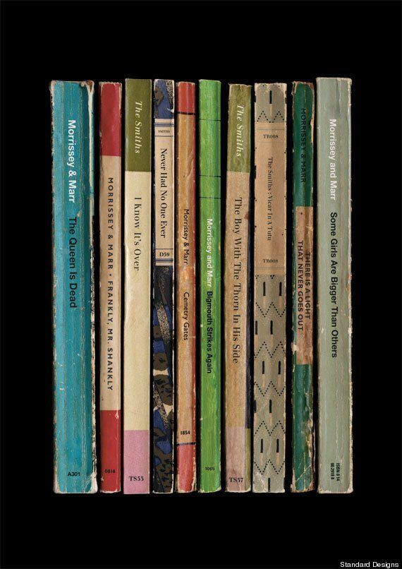 The Smiths Albums Reimagined As Vintage Books