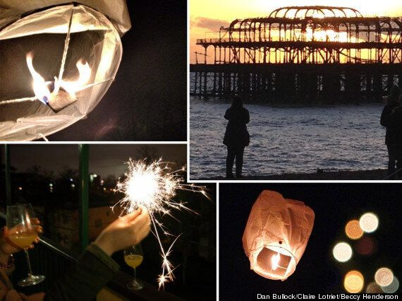 Instagram And Twitter's Best New Year's Eve Pictures: Chinese Lanterns And Sunrises On The