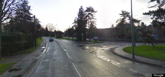 Oxford Road, In Abingdon, Splits In Two After Bad Weather