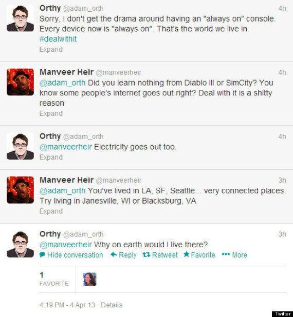 Microsoft's Adam Orth Fans Rumour That Next Xbox Requires 'Always On' Internet