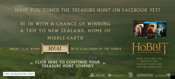 'The Hobbit: An Unexpected Journey' Competition: Win A 3D Home Entertainment System, Plus Join The Treasure...