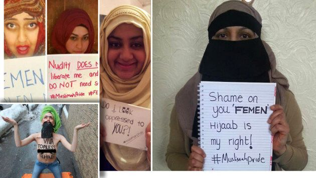 Muslimah Pride: We Reject Femens Islamophobic and Neo-Colonialist Crusade to Save