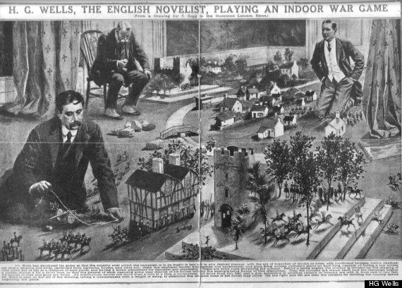 HG Wells' 'Little Wars': How An Icon Of Sci-Fi Invented Modern War Games 100 Years