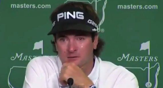 Bubba Watson Cries Again Ahead Of US Masters At Augusta