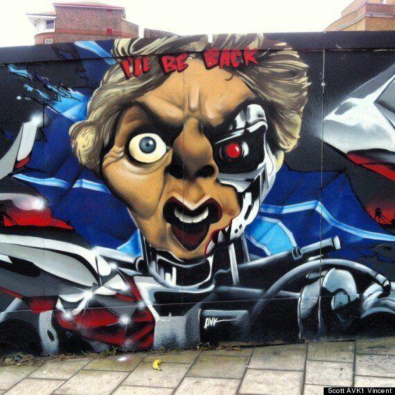 Margaret Thatcher Dead: Creative Graffiti Art Sprayed Across The UK