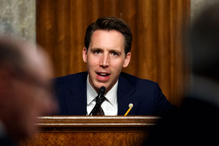 Sen. Josh Hawley (R-Mo.), who has confirmed a string of right-wing ideologues to be lifetime federal judges, is drawing the l
