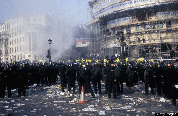 Margaret Thatcher Protest Planned For Trafalgar Square, Miners, Anarchists To
