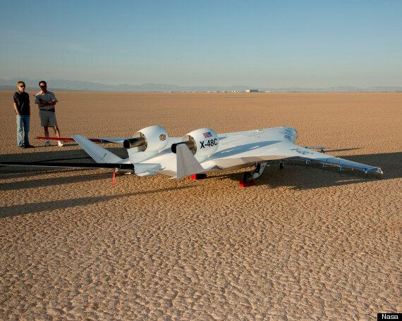 Blended Wing Body Aircraft, X-48c, Successfully Tested By Boeing And