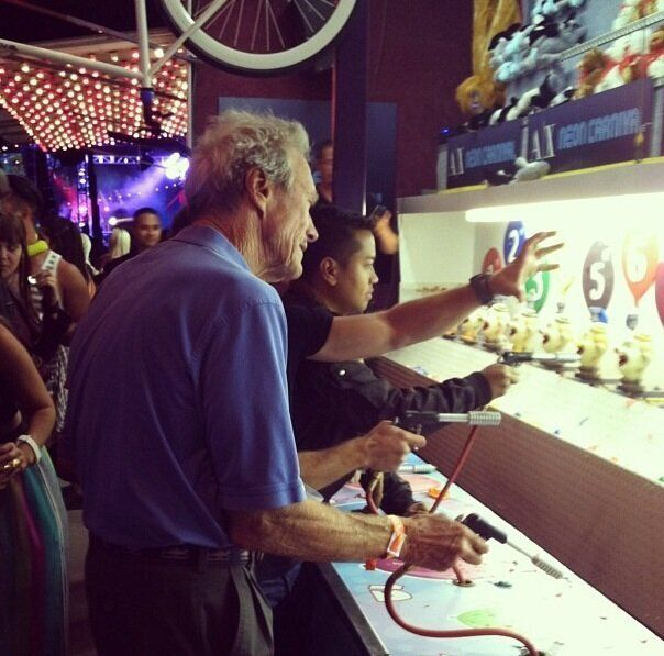 Go Ahead, Punk... Make My Day! Clint Eastwood Caught In Shoot Out At Coachella